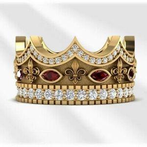Royal Gold Crown Ring